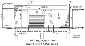 Gravity Thickening Support Building