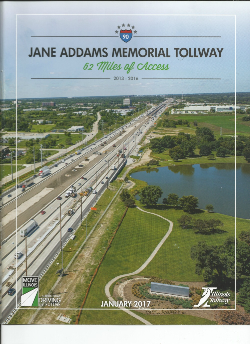 Jane Addams Memorial Tollway January 2017